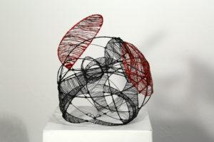 Augapfel, 31 x 28 x 28 cm, 2016